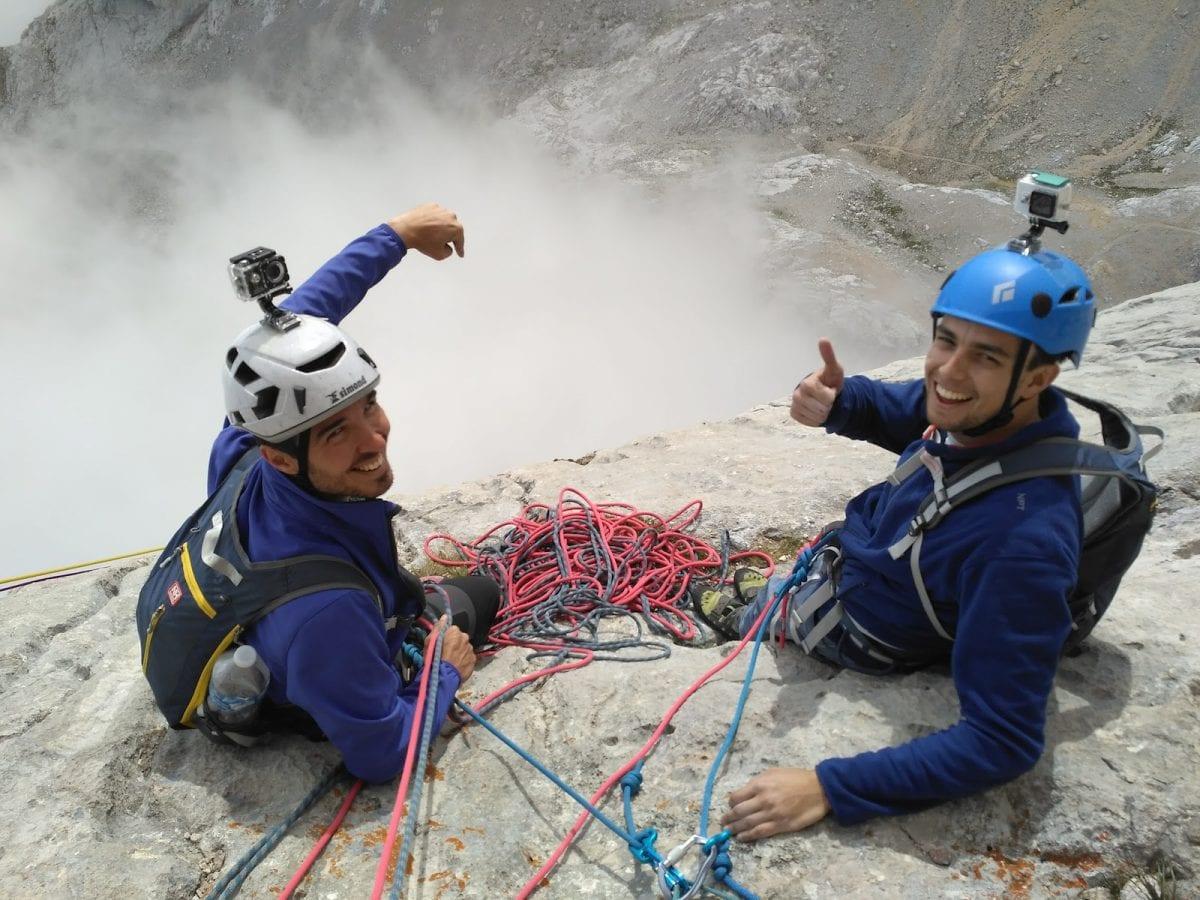 Actividades escalada en Picos de Europa