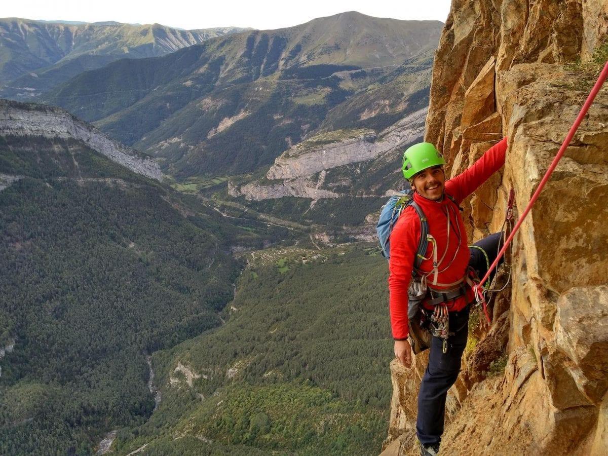 Actividades escalada en Pirineos